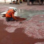 Dr Pepper Floor Patching