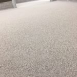 Hospital Restroom Floor Coating
