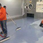 Pharmaceutical Epoxy Floor Coating Installation