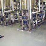 Pharmaceutical Seamless flooring epoxy urethane resinous