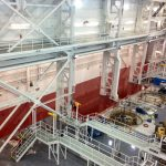 Aerospace Facility Floor Coating