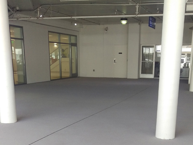 Aumotive Showroom Garage Flooring