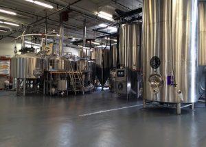 Beverage Plant Flooring Epoxy