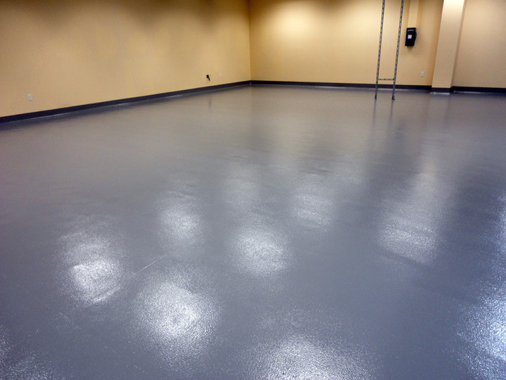 Commercial Kitchen Flooring Job Site