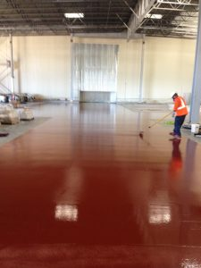 Food Processing Plant Epoxy Flooring