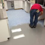 Installing Pharmaceutical Floor Coating