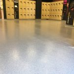 Locker Room Epoxy Floor