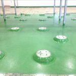 Yakult Beveragle Processing Facility Floor