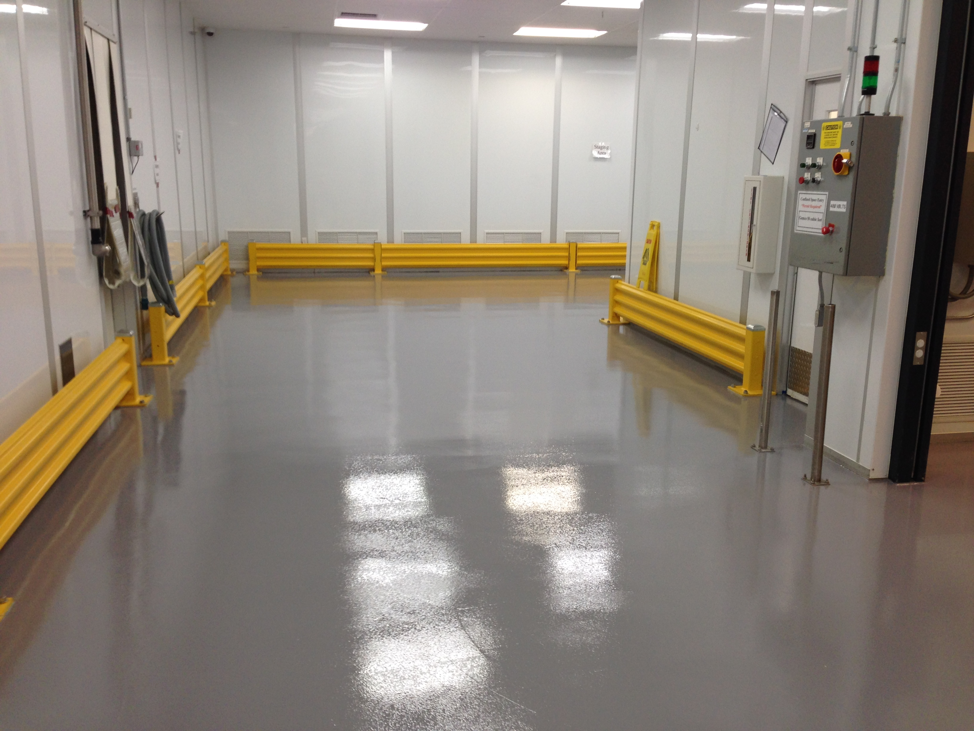 Industrial manufactoring food processing epoxy seamless